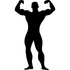 muscular-man-flexing-silhouette_318-47179