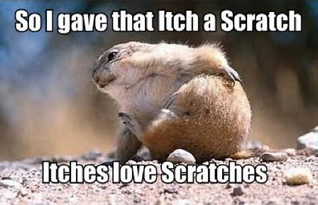 itchy